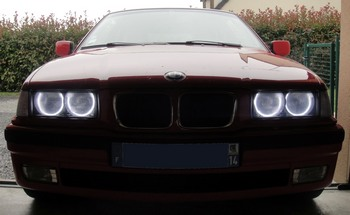 Feux de jour angel eyes CCFL BMW