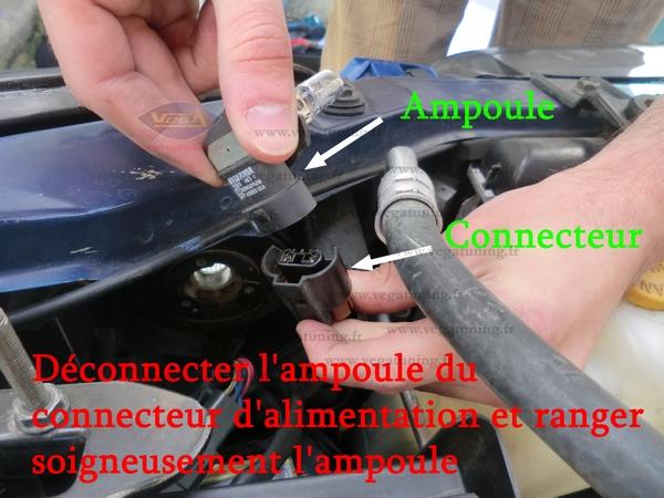 Montage kit xénon HID 55W Vega Page 3