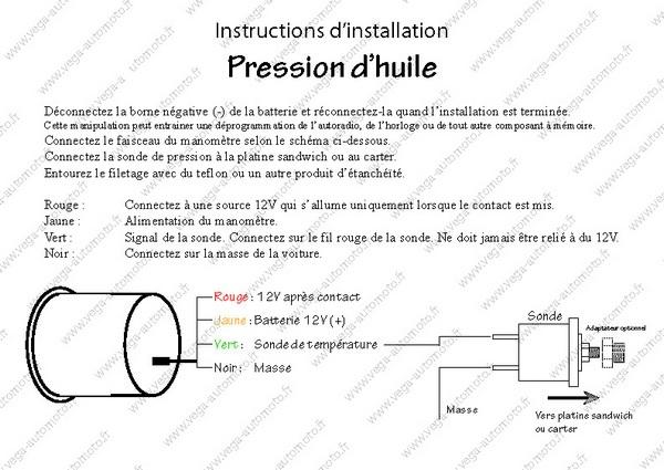 Instructions d'installation