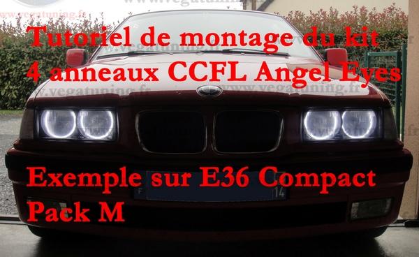 Montage kit CCFL Angel Eyes VEGA
