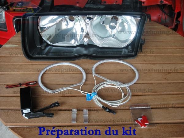 Montage kit CCFL Angel Eyes VEGA Page 12