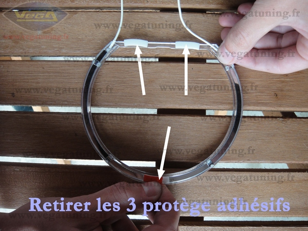 Montage kit CCFL Angel Eyes VEGA Page 16