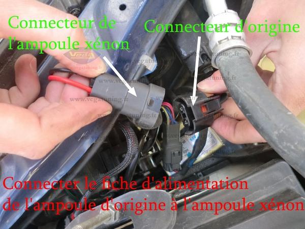 Montage kit xénon HID 55W Vega Page 8